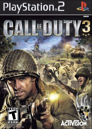call of duty 3 cover. call of duty
